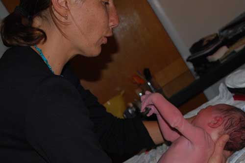 Midwife Claire Bettler CNM